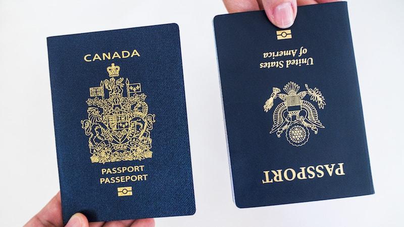 Documents pour aller aux Etats Unis